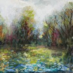 The Marsh in July 18x36