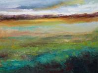 Landscape Glimpse( 18 x 24 )