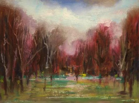 Forest Clearing 12 x 16
