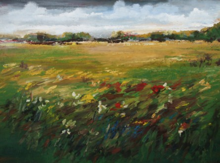 The Windy Field 36 x 48