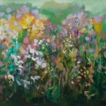 The Joy in a Country Garden 24x40