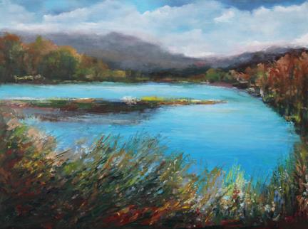 Lake Retreat 18 x 24
