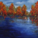 Fall Brilliance - Another Day, 36 x 40