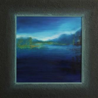 Night Blue 36 x 36