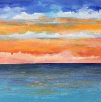 Horizon 5, 36 x 36