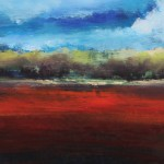 Scarlet Landscape 11 x 14