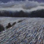 Winter Field 30 x 36 - gallery stretcher