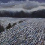 Winter Field 30 x 36 - gallery stretcher