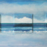 3 Water Scenes 21 x 49