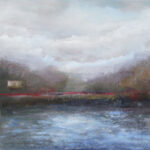 CHESTER Cloudy Day At the Lake 16x40