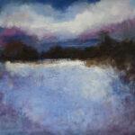Through a Dream, 2012, oil on canvas, 40 x 40