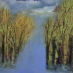 Whisper Trees 36 x 36