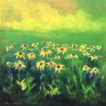 Dream of Field Daisies, 60 x 60 copy